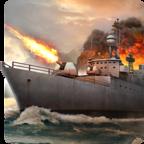 敌方水域潜艇与战舰