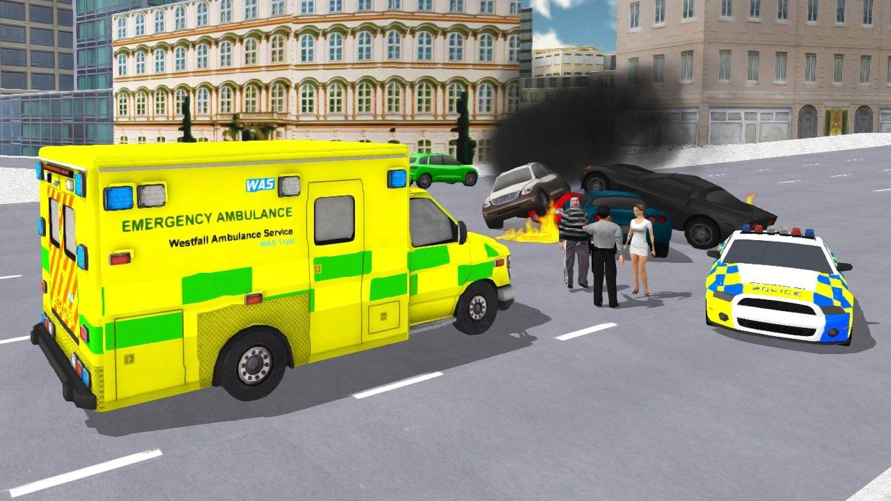 开车模拟真车游戏_救护车模拟器游戏下载_救护车模拟器游戏安卓版下载_比比手游网